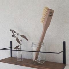 ブラシ/キッチン雑貨/雑貨/雑貨だいすき 大きい歯ブラシ、、、ではなく、 水筒を洗…