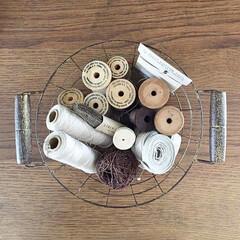 ボビン/糸/手芸/雑貨/ハンドメイド 糸ざんまい  糸を集めるのが好きです。 …