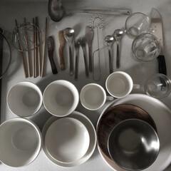 洗い物/食器/キッチン/雑貨/暮らし 朝食で使った食器類。 朝のほんの一コマで…