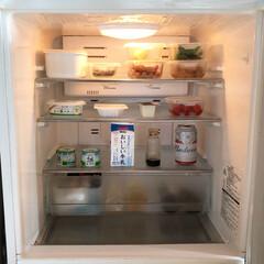 冷蔵庫掃除/冷蔵庫の中/冷蔵庫整理/冷蔵庫/冷蔵庫収納/キッチン雑貨/... 冷蔵庫は食材の保管場所だけれど、できれば…
