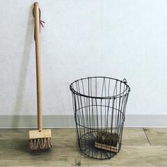 ワイヤーカゴ/ブラシ/雑貨/掃除/雑貨だいすき お掃除道具 (あまり使っていない💦) お…