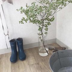 雨の日/mont-bell/長靴/雑貨/おでかけ/暮らし/... mont-bellの子供長靴 あまり出番…