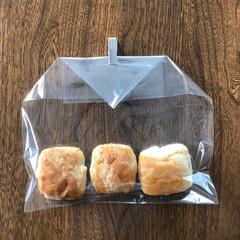 食品袋/湿気/袋/食品ストック 空気が入らない、 袋の閉じ方。 両側を三…(4枚目)
