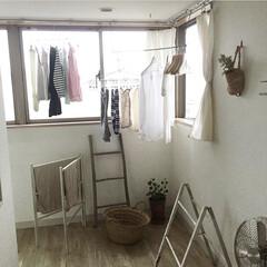 インナーバルコニー/乾かない/洗濯物/雨の日/雨季ウキフォト投稿キャンペーン 雨の日の洗濯物の集い風景 洗濯物が乾かな…