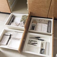 キッチン引き出し/キッチン/キッチン雑貨/雑貨/雑貨だいすき キッチンの4段引き出し キッチン雑貨をな…