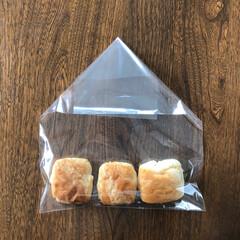 食品袋/湿気/袋/食品ストック 空気が入らない、 袋の閉じ方。 両側を三…(3枚目)