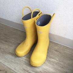 mont-bell/雨の日/長靴/雑貨/暮らし/雑貨だいすき 先日の大雨で久しぶりに履いた息子の長靴2…