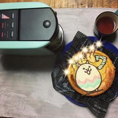 誕生日ケーキ/チーズケーキ/にゃんこ大戦争/チョコ にゃんこ大戦争にゃにゃ周年ー♪ ってこと…(1枚目)