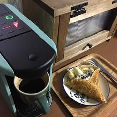 カフェコーナー/クレープ/コーヒーのある暮らし/コーヒータイム/コーヒーメーカー/DP3/... 今日はお休みなので、見ないふりしていたと…