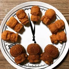 人形焼/ドラえもん/テレ朝夏祭り/おやつタイム テレ朝夏祭りのお土産の ドラえもん人形焼…(1枚目)