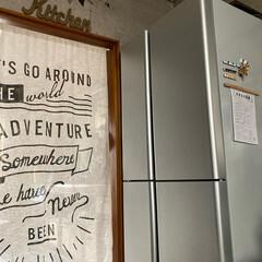 冷蔵庫掃除/AQUA/大掃除 今日は 冷蔵庫の大掃除 と、カーテン丸洗…