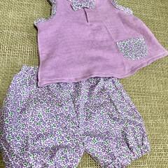 ダブルガーゼ/ベビー服/ファッション 先日H&Mに行ったら、可愛いい子供服が、…