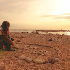 子供/妹撮影/カメラ女子/日の出/真鶴/おでかけ/... 妹が撮影してくれた写真です ( ⁎ᵕᴗᵕ…