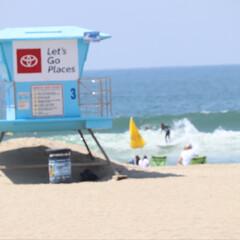 ハンティントンビーチ/西海岸/アメリカ/GW/LIMIAおでかけ部/おでかけ/... アメリカ西海岸ハンティントンビーチ  波…(2枚目)