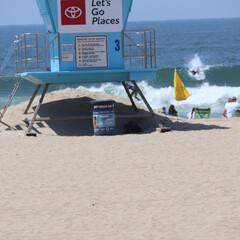 ハンティントンビーチ/西海岸/アメリカ/GW/LIMIAおでかけ部/おでかけ/... アメリカ西海岸ハンティントンビーチ  波…