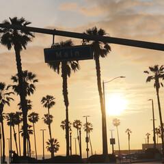西海岸/アメリカ/ハンティントンビーチ/サンセット/GW/おでかけ/... ハンティントンビーチ 昼間の爽やかなブル…(3枚目)