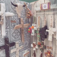 ハンドメイド雑貨/壁飾り/インテリア雑貨/十字架/クロス/インテリア/... エコファークロス✝️ 大理石風クロス✝️…