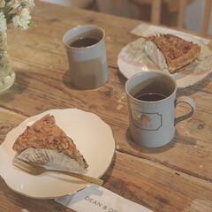 おうちカフェ/Deananddeluca/テーブルウェア/テーブルコーディネート/ポーセラーツ/リミアな暮らし/... 〜おうちカフェ〜  お友達のお誕生日お祝…