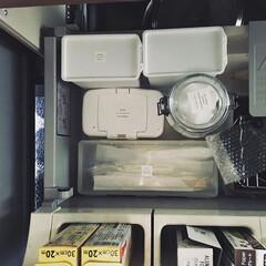 シンク下/シンク下収納/セリア収納/セリア/キッチン収納/収納 シンク下の引き出しをセリアの商品で整理収…