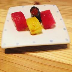 お寿司ミニチュア/お菓子/ミニチュアフード/ミニチュア/おうちごはん 中3の娘がお菓子コーナーにあるお寿司のお…(2枚目)