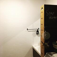 日本プラスター 漆喰 うま〜くヌレール 仕上げ用 18kg しっくい うまーくぬれーる(珪藻土、漆喰)を使ったクチコミ「おうち時間で洗面所にうまくヌレールを塗り…」
