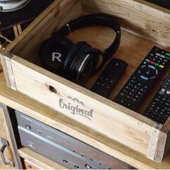 ワークショップ/DIY/コンテスト参加/フォロー大歓迎/ペット/犬/... チロルの入っている木箱は、チロルのお世話…(4枚目)