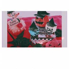 ハロウィンかぼちゃ/折り紙/おりがみ/折鶴/折り紙バラ/2018ハロウィン Trick or Treat !!  折…