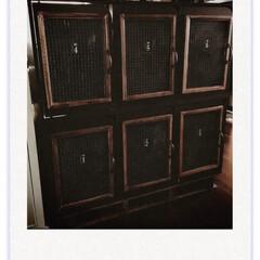ロッカー風/リメイク/DIY/ハンドメイド/雑貨/100均/... 私もロッカー風の本棚が欲しい! と思い立…