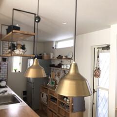 flame/照明/インテリア/ダイニング/キッチン/ペンダントライト/... ✳︎ 我が家のペンダントライト。 神戸の…