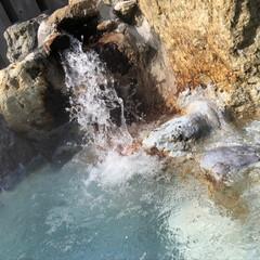お出かけ/温泉 露天風呂ー〜 清水区の山奥の温泉♨️に来…