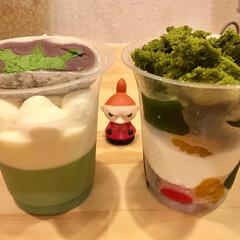 ババロア/パフェ/抹茶/スイーツ 雅正庵さんの 抹茶ぷるぷるゼリーパフェ …