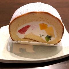 nagomiさん の お皿/頑張って/スイーツ 今日は、なんでも ない日なんですけどねー…(2枚目)