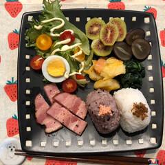 onigiriAction/おにぎりアクション2019 久しぶりにワンプレートの朝ごはん おむす…(2枚目)