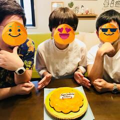 なかよし/抹茶と オレンジのケーキ/キルフェボン本店/キルフェボン/お誕生日 今日は、娘の誕生日💕 我が家の なかよし…