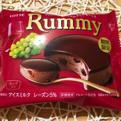 めちゃウマ/ロッテアイス/ラミー/アイス Rummy好き な  あんこ 💕💕 アイ…