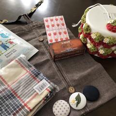 リミ友ばんざぁい/りみ友ちゃんからのプレゼント こんばんは⭐️⭐️⭐️ 今日は横浜の苺🍓…