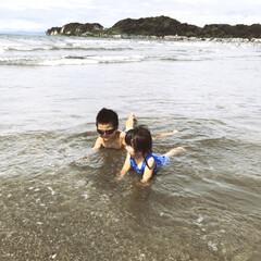 海 初めての海🏖