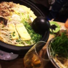 ダイエット/きのこ/鍋/夕飯/ヘルシー/鶏団子 涼しくなったらやっぱり鍋♡ きのこたっぷ…