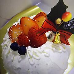 クリスマスケーキ クリスマスイベントで作りましたドームケー…