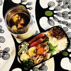スープジャー/男子弁当/お弁当 おはようございます😊 今日も寒そうなので…