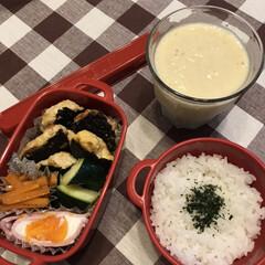 ランチ お弁当☆14  *鶏つくね *ズッキーニ…