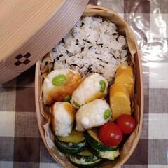 ランチ お弁当☆5  *枝豆はんぺんボール *卵…