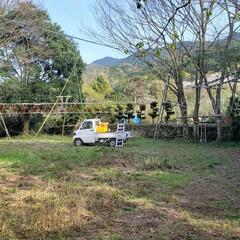 休校/アスレチック/竹/ロープワーク/ロープ/DIY/... 今回はコロナ騒動で長すぎる春休みに入り、…