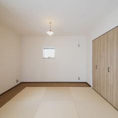 和室/畳 和室は趣味のアンティーク雑貨を飾ります。