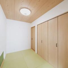 和室/畳 いぐさが大好きなご主人が選んだいぐさ風の…