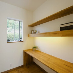 書斎/カウンター ご主人様お気に入りの書斎スペース。