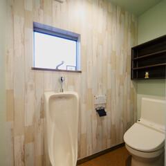 男性トイレ ご主人様こだわりのトイレ。長居する事間違…
