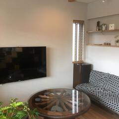 新築/リビング/新築住宅 「庭を愉しむ家」リビング