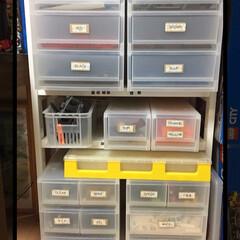 おもちゃ収納/収納術/レゴブロック/無印良品 レゴブロックの片付けをしたくて、衣装ケー…
