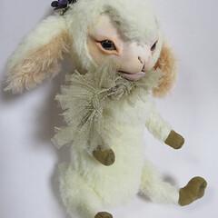 羊/ヒツジ/ドール/人形/雑貨/ペット オリジナル・フェイスタイプドールのヒツジ…